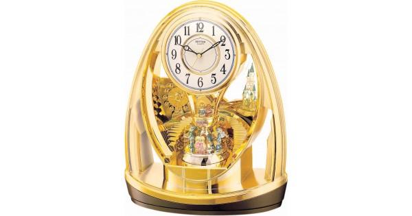 Rhythm Japan Contemporary Motion Rotating Pendulum Clock